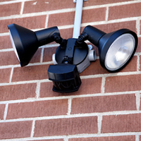 bank holiday security lighting